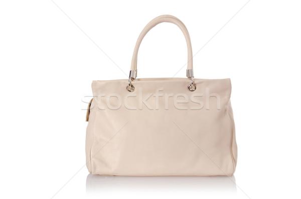 Nice elegant woman bag isolated on the white Stock photo © Elnur