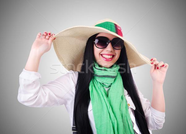 Mulher jovem pronto férias de verão negócio menina feliz Foto stock © Elnur
