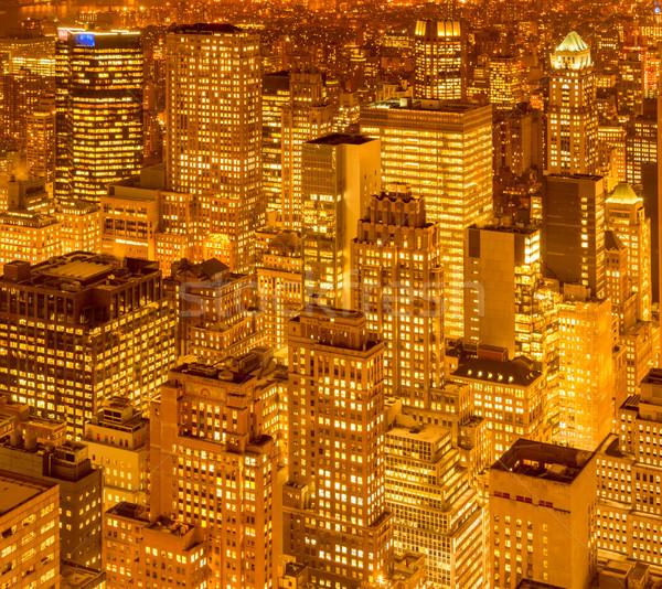 мнение новых Manhattan закат бизнеса небе Сток-фото © Elnur