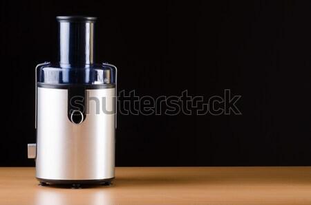 Soku sprzęt kuchenny domu szkła tle kuchnia Zdjęcia stock © Elnur