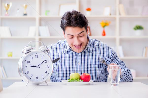 замедлять службе ресторан время обеда плодов Сток-фото © Elnur