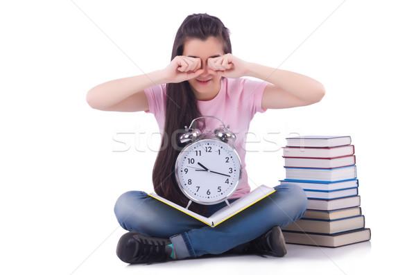 Student failing to meet deadlines for her studies Stock photo © Elnur