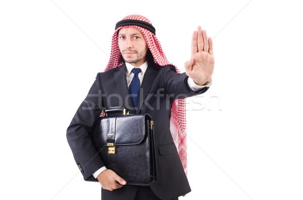 Árabe homem diversidade negócio empresário asiático Foto stock © Elnur