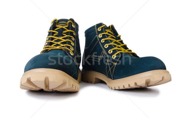 Nehéz kötelesség cipők izolált fehér háttér Stock fotó © Elnur
