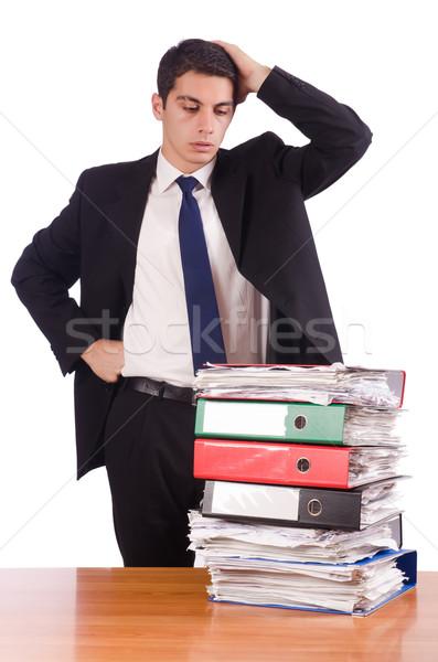 Работник занят на работе с
