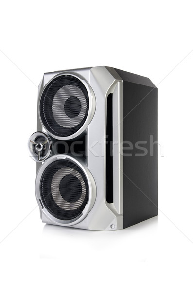 Sound audio speaker isolated on white background Stock photo © Elnur