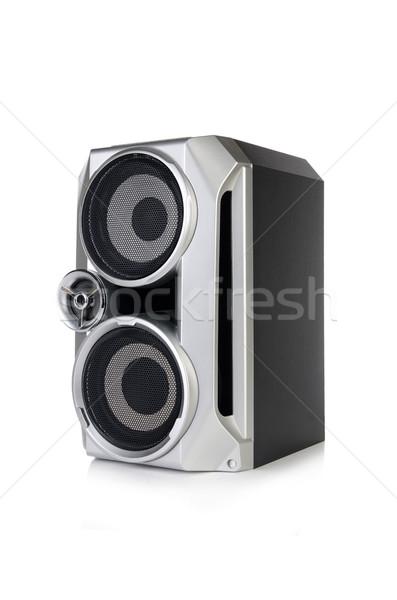 звук аудио оратора изолированный белый музыку Сток-фото © Elnur