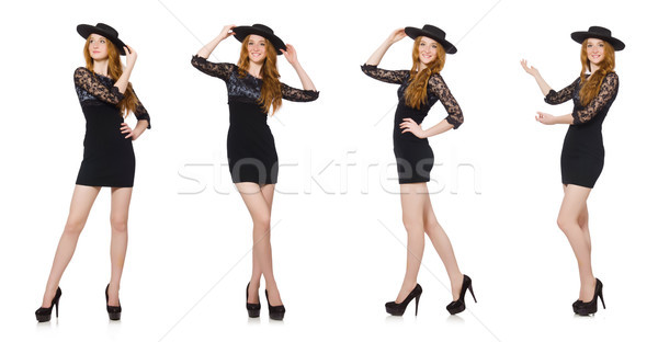 The funny mexican with sombrero hat Stock photo © Elnur