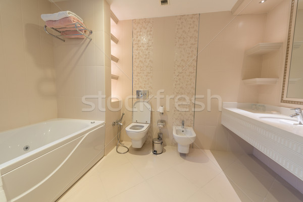 Toilet room in the modern interior Stock photo © Elnur