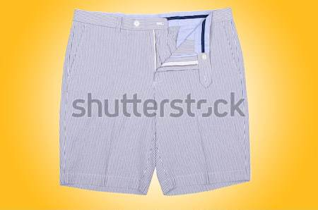 Male shorts isolated on the white background Stock photo © Elnur