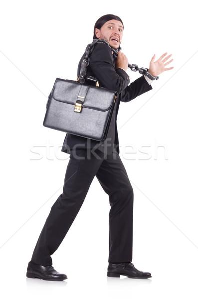 男 チェーン 孤立した 白人 白 ビジネス ストックフォト © Elnur