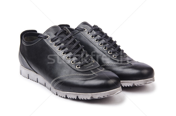 Male shoes isolated on white Stock photo © Elnur