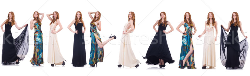 Stock photo: Set of photos in fashion concept