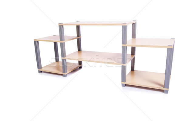 TV stand isolated on the white background Stock photo © Elnur