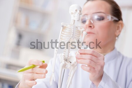 Young doctor with the syringe Stock photo © Elnur
