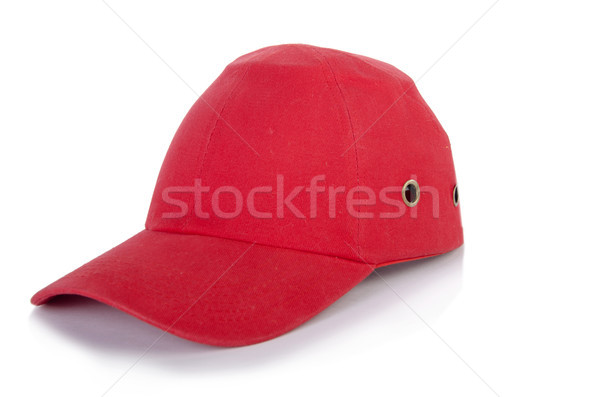 ac217f1b4b8 Red baseball cap isolated on the white background Stock photo © Elnur