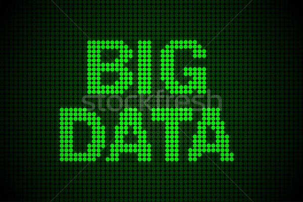 Grande datos moderna informática negocios ordenador Foto stock © Elnur
