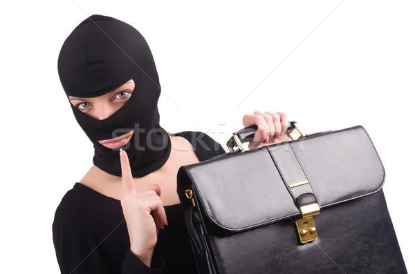 Industriali spionaggio persona imprenditore suit divertimento Foto d'archivio © Elnur