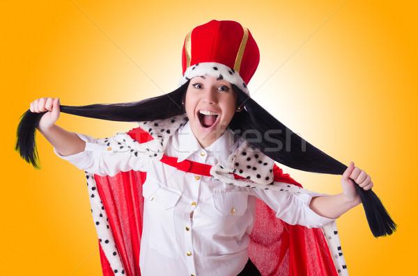 Królowej kobieta interesu działalności pracy biznesmen wykonawczej Zdjęcia stock © Elnur