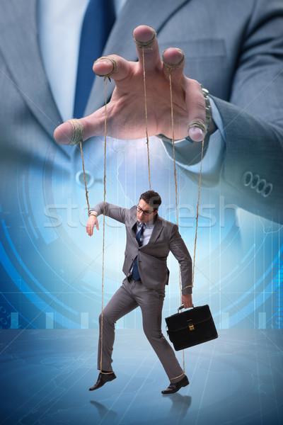 бизнесмен марионеточного Boss бизнеса стороны Сток-фото © Elnur