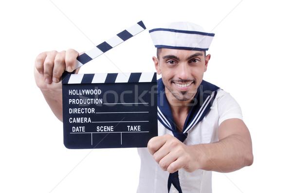 船乗り 映画 白 幸せ 芸術 夏 ストックフォト © Elnur