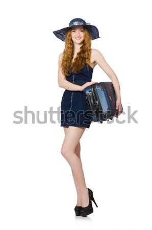 Woman toreador isolated on the white Stock photo © Elnur