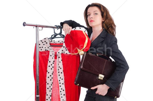 женщину королева смешные работу бизнесмен исполнительного Сток-фото © Elnur