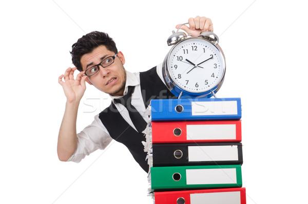 Man failing to meet his deadlines Stock photo © Elnur