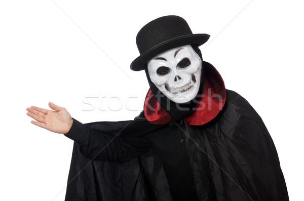 человека ужас костюм маске изолированный Сток-фото © Elnur