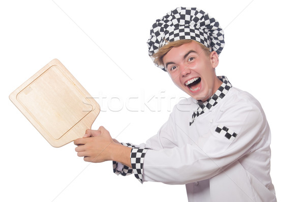 Funny cook isolated on white Stock photo © Elnur
