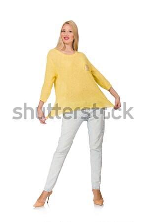 Сток-фото: фото · женщину · различный · Sexy · оранжевый