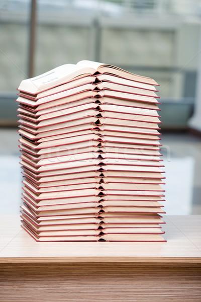 книгах книга фон комнату Сток-фото © Elnur