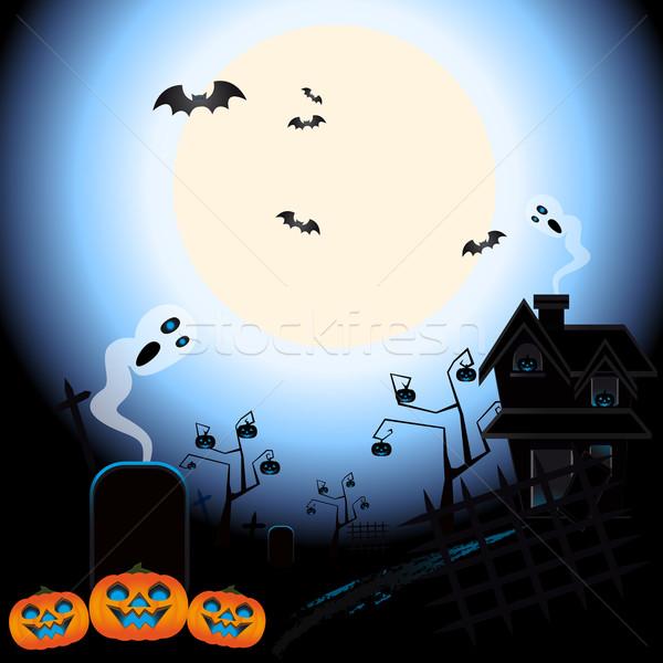 Ghosts of halloween Stock photo © Elsyann
