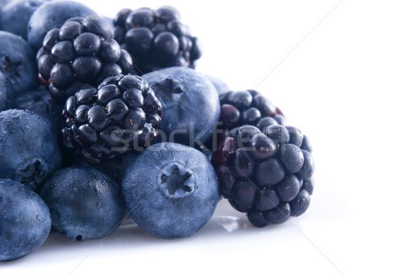 Arándanos alimentos azul Foto stock © elvinstar