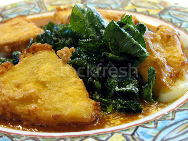 fried cheese close up Stock photo © elvinstar