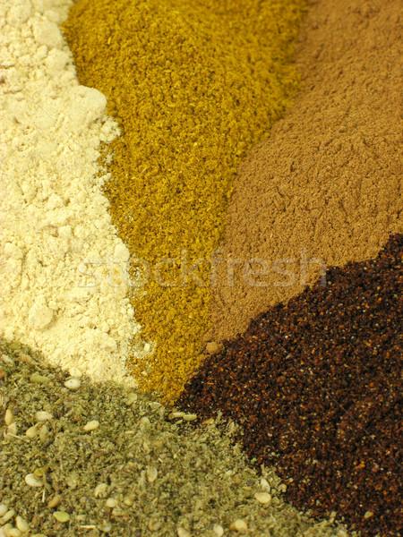 Tempero temperos fundos textura comida Foto stock © elvinstar