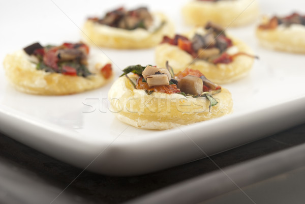 Elegante aperitivo raso foco Foto stock © elvinstar