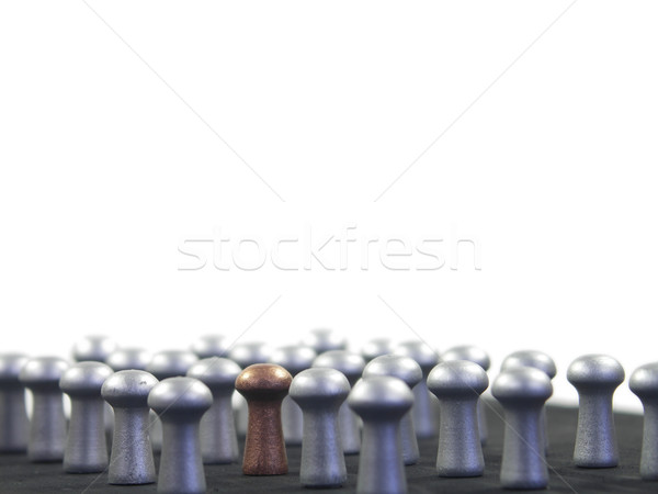 Stand out in the crowd Stock photo © elvinstar