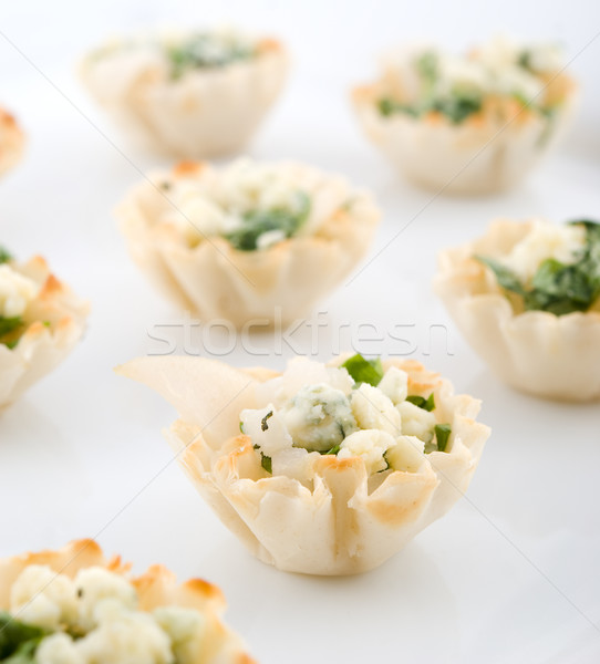 Elegante pera aperitivos placa superficial Foto stock © elvinstar