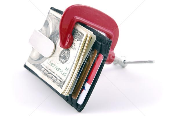 Economic squeeze Stock photo © elvinstar