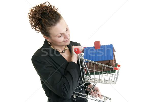 Caucásico femenino atractivo mujer Foto stock © elvinstar