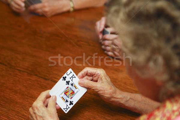 игорный игральных карт мелкий области Сток-фото © elvinstar