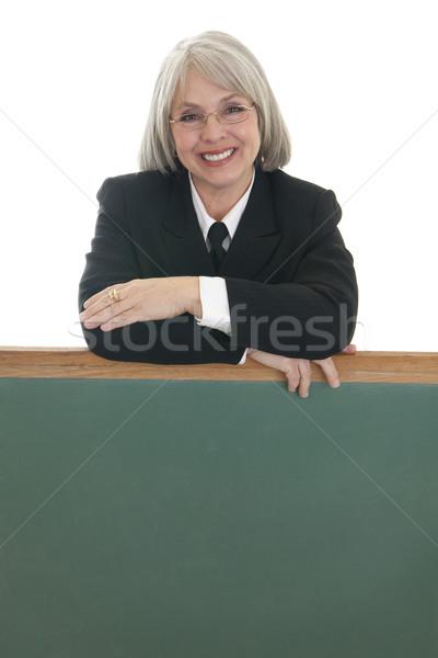Cute деловой женщины кавказский бизнеса Сток-фото © elvinstar