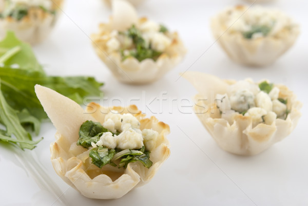 Stock photo: Elegant pear appetizers