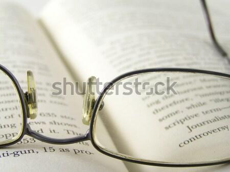 heavy reading Stock photo © elvinstar