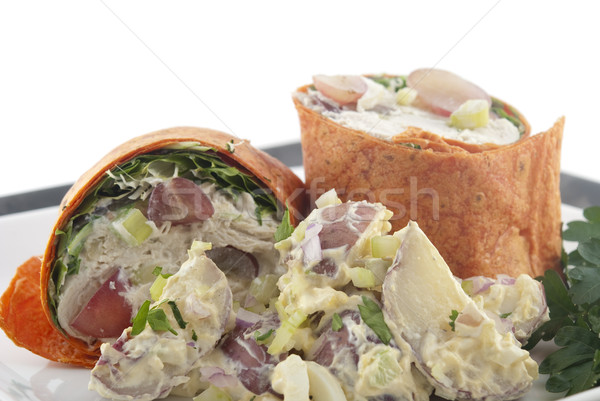 Chicken salad wrap Stock photo © elvinstar