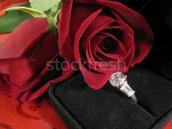 Valentine engagement Stock photo © elvinstar