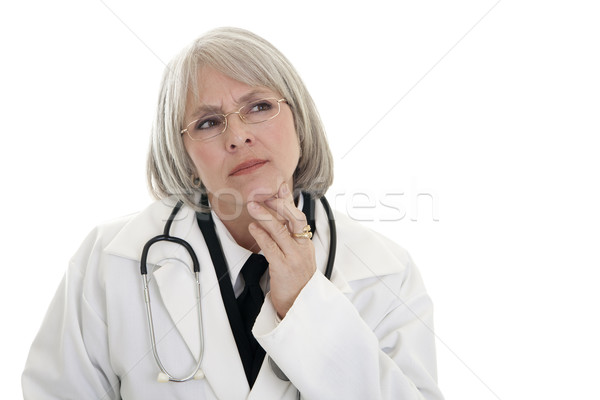 Mature female doctor Stock photo © elvinstar