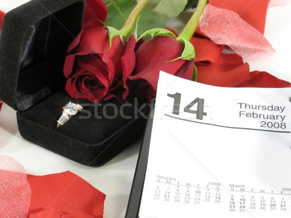 Happy Valentine's day Stock photo © elvinstar