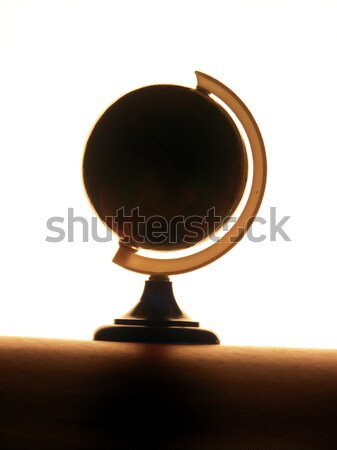 backlit globe Stock photo © elvinstar
